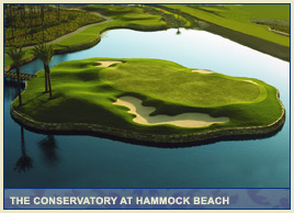 The Conservatory at Hammock Beach by Tom Watson