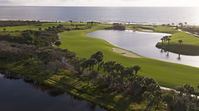 Hammock Beach Resort 15, 16, 17 holes (the Bear Claw)