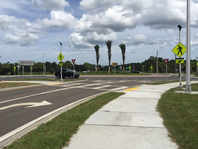US 1 rotary in Palm Coast